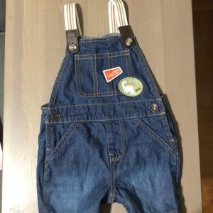 Overall shorts Size 12-18 months